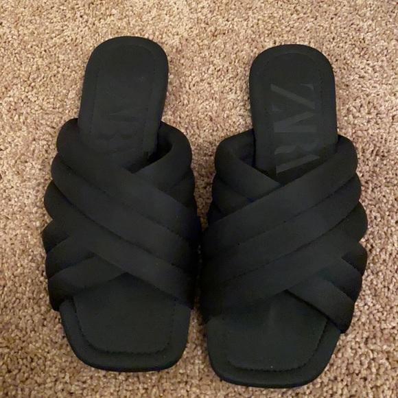Zara Criss Cross Sandals